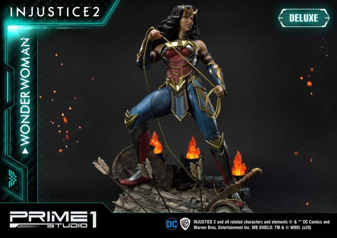 Prime 1 Studio - Injustice 2 - Wonder Woman - Deluxe - 32