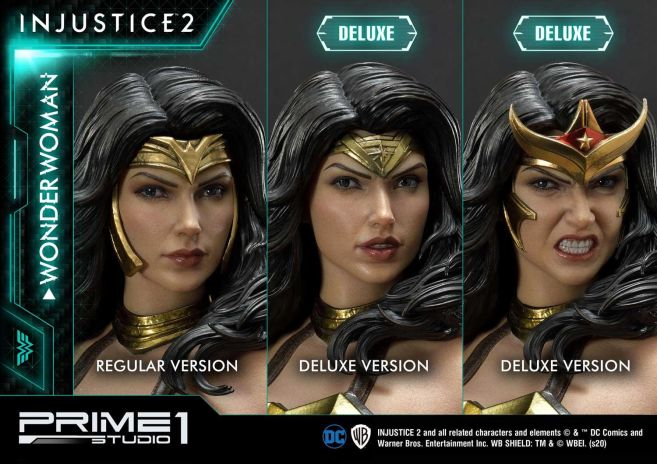 Prime 1 Studio - Injustice 2 - Wonder Woman - Deluxe - 34