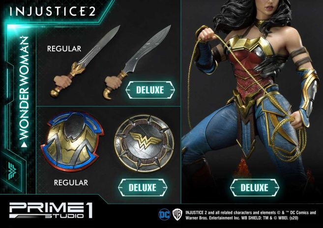 Prime 1 Studio - Injustice 2 - Wonder Woman - Deluxe - 37