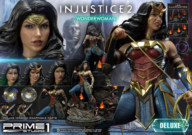 Prime 1 Studio - Injustice 2 - Wonder Woman - Deluxe - 38