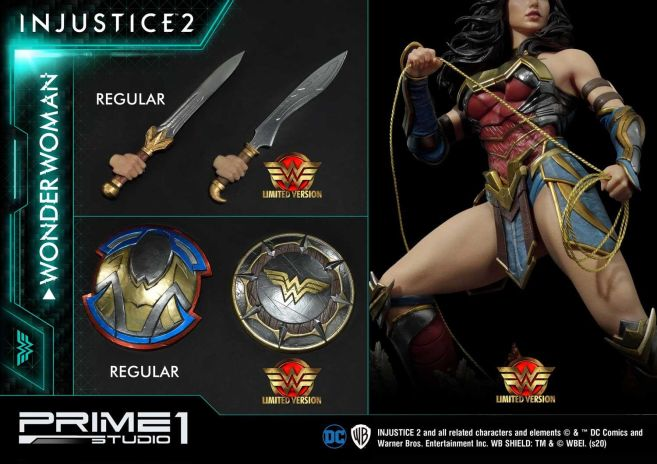 Prime 1 Studio - Injustice 2 - Wonder Woman - Limited - 20