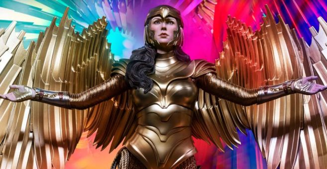 Queen Studios - Wonder Woman 1984 - Golden Armor Wonder Woman - 04