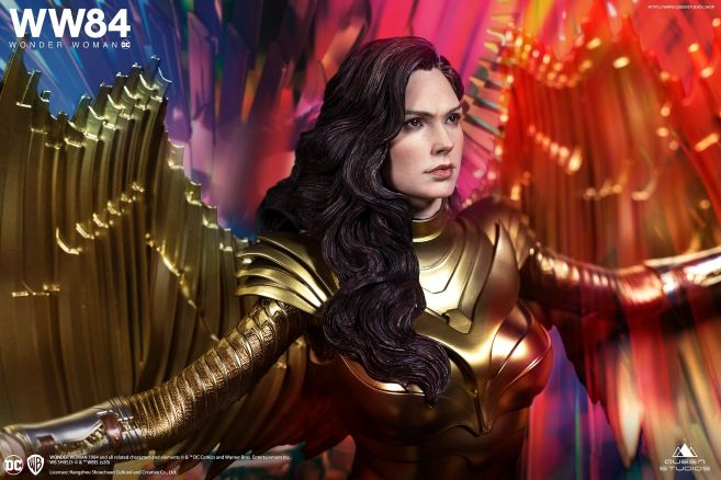 Queen Studios - Wonder Woman 1984 - Golden Armor Wonder Woman - 07