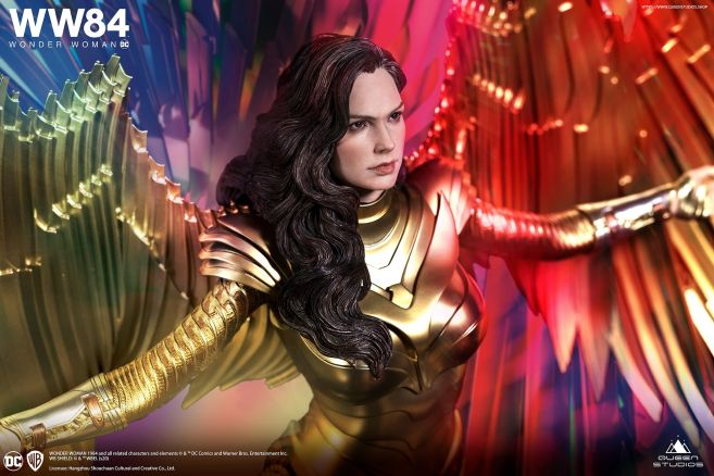 Queen Studios - Wonder Woman 1984 - Golden Armor Wonder Woman - 08