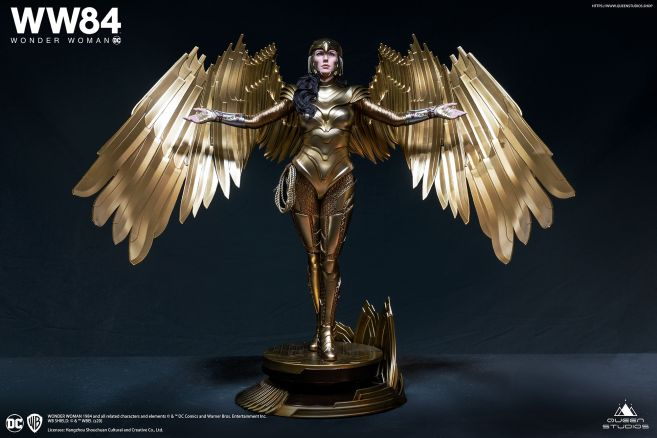 Queen Studios - Wonder Woman 1984 - Golden Armor Wonder Woman - 10