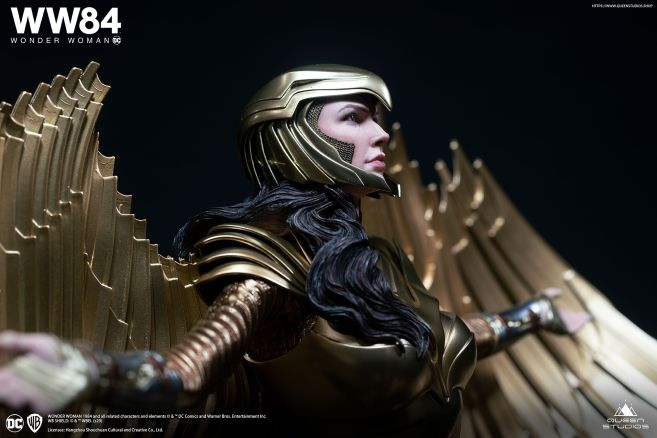 Queen Studios - Wonder Woman 1984 - Golden Armor Wonder Woman - 16