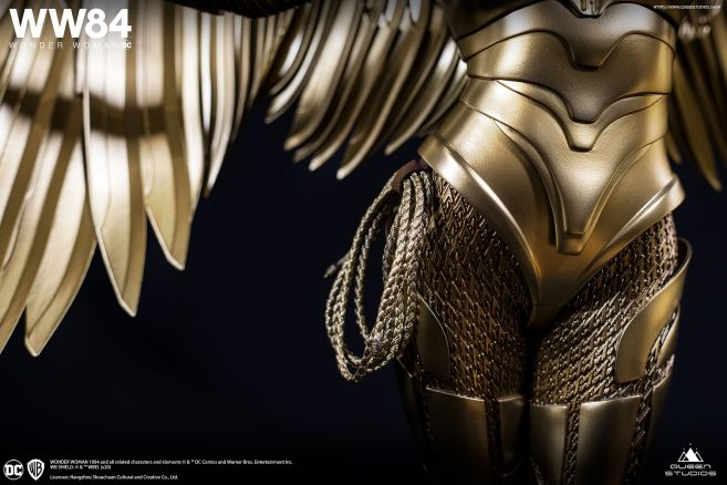 Queen Studios - Wonder Woman 1984 - Golden Armor Wonder Woman - 22
