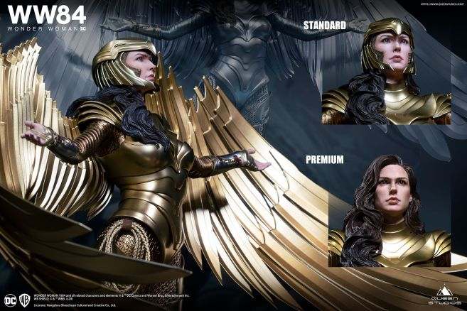 Queen Studios - Wonder Woman 1984 - Golden Armor Wonder Woman - 24