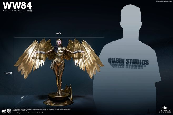 Queen Studios - Wonder Woman 1984 - Golden Armor Wonder Woman - 25