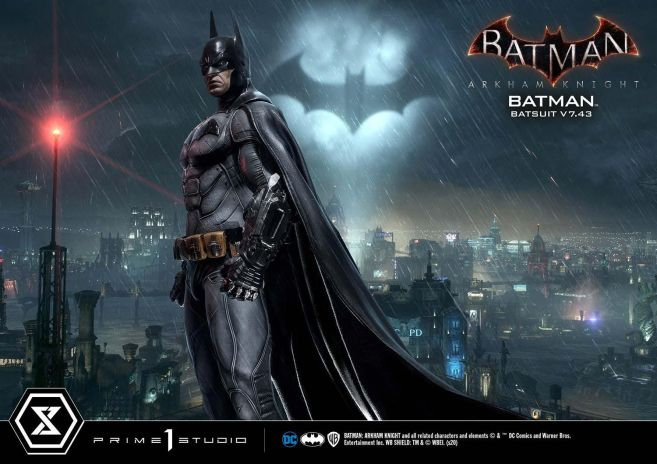 Prime 1 Studio - Batman Arkham Knight - Batman Batsuit V743 - 09