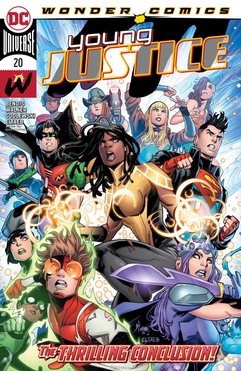 Young Justice #20 review - The Aspiring Kryptonian