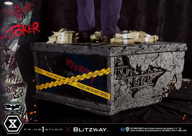 Prime 1 Studio - Batman - The Dark Knight - Joker - 76