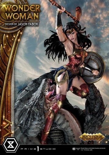 Prime 1 Studio - Wonder Woman - Wonder Woman vs Hydra - 02