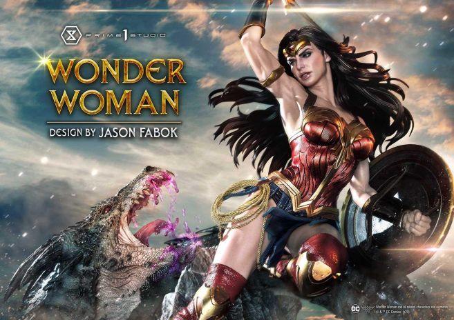 Prime 1 Studio - Wonder Woman - Wonder Woman vs Hydra - 03