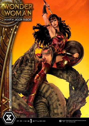 Prime 1 Studio - Wonder Woman - Wonder Woman vs Hydra - 04