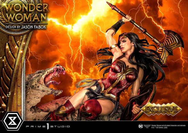 Prime 1 Studio - Wonder Woman - Wonder Woman vs Hydra - 12