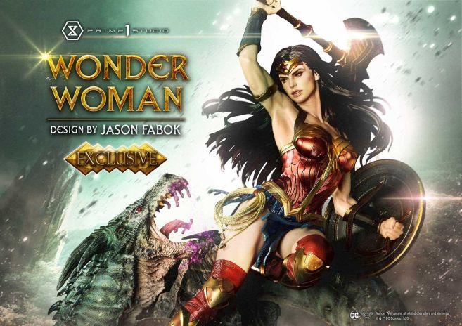 Prime 1 Studio - Wonder Woman - Wonder Woman vs Hydra - 18