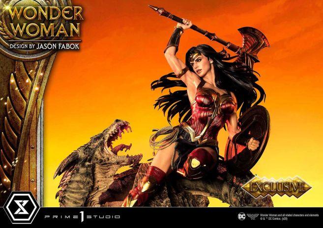 Prime 1 Studio - Wonder Woman - Wonder Woman vs Hydra - 19