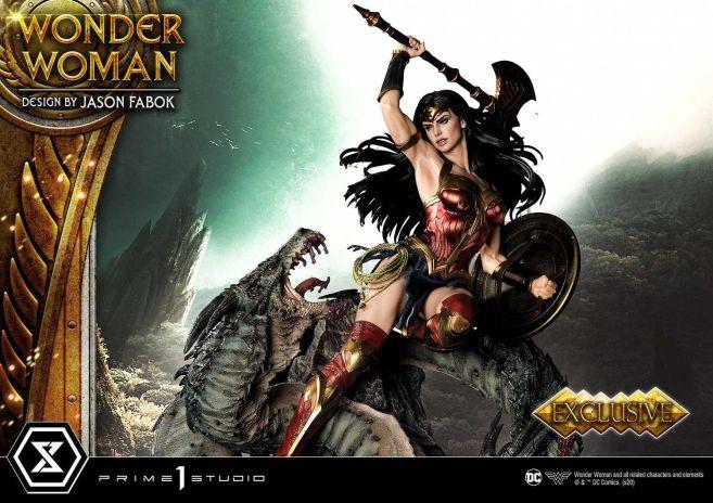Prime 1 Studio - Wonder Woman - Wonder Woman vs Hydra - 20