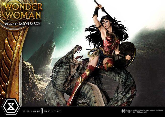 Prime 1 Studio - Wonder Woman - Wonder Woman vs Hydra - 33