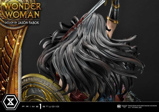 Prime 1 Studio - Wonder Woman - Wonder Woman vs Hydra - 46
