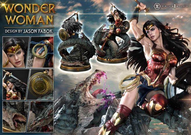 Prime 1 Studio - Wonder Woman - Wonder Woman vs Hydra - 57