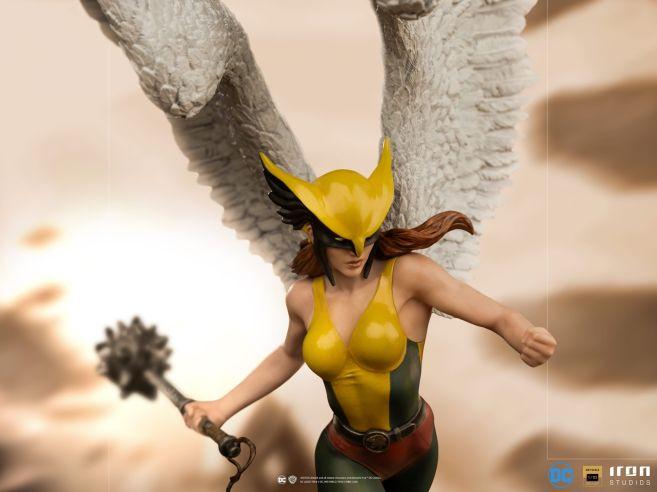 Iron Studios - DC Comics - Hawkgirl - 02