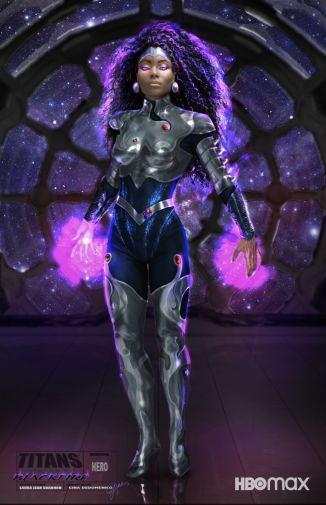 Titans - Season 3 - Blackfire - Concept Art - 01
