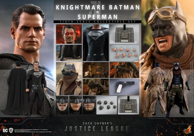 Hot Toys - Zack Snyders Justice League - Two-Pack - 36