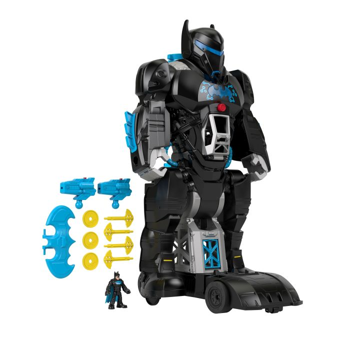 Mattel - Virtual Toy Fair 2021 - Imaginext DC Super Friends Bat-Tech BatBot
