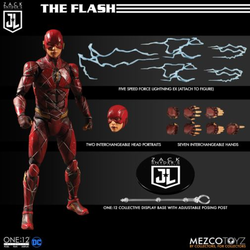 Mezco Toys - Zack Snyders Justice League - The Flash - 03