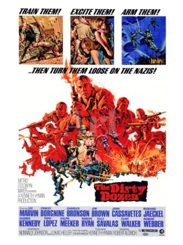 The Dirty Dozen - Movie Poster - 01