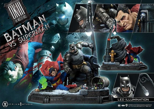 Prime 1 Studio - Batman - The Dark Knight Returns - Batman vs Joker - 120