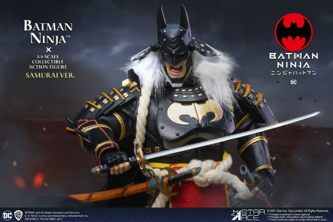 Star Ace Toys - Batman Ninja - Ninja Version With Horse - 21