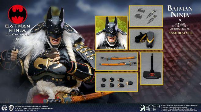 Star Ace Toys - Batman Ninja - Ninja Version With Horse - 23