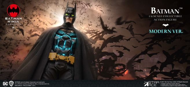 Star Ace Toys - Batman Ninja - Batman - Moden Day - 02