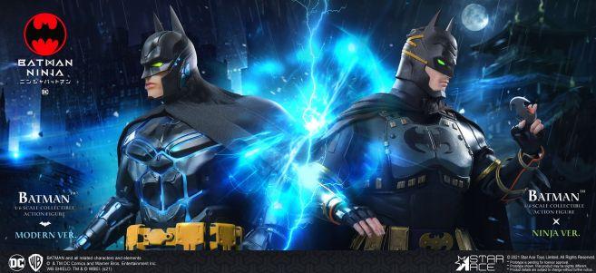Star Ace Toys - Batman Ninja - Batman - Moden Day - 09