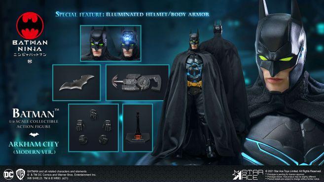 Star Ace Toys - Batman Ninja - Batman - Moden Day - 10
