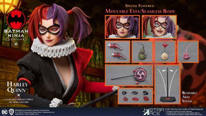 Star Ace Toys - Batman Ninja - Harley Quinn - 10