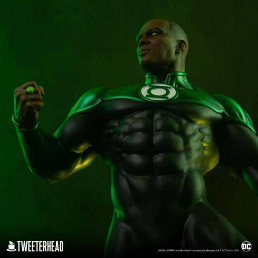 Tweeterhead - Green Lantern - John Stewart - Statue - 01