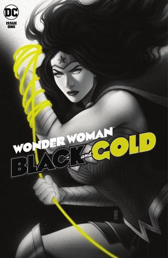 Wonder Woman Black and Gold 1