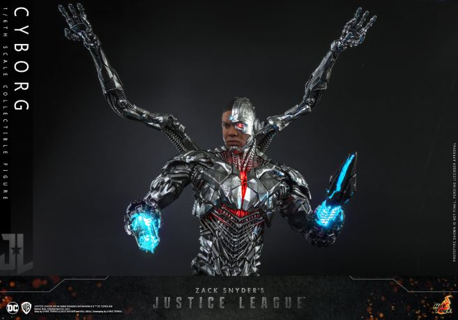 Hot Toys - Zack Snyders Justice League - Cyborg - 07