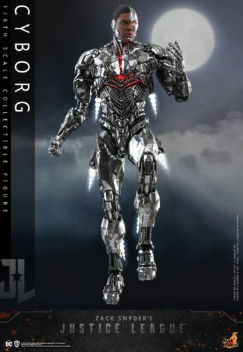 Hot Toys - Zack Snyders Justice League - Cyborg - 08