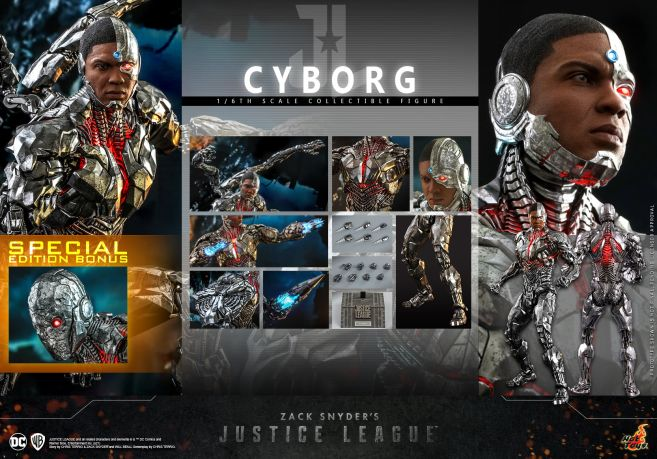 Hot Toys - Zack Snyders Justice League - Cyborg - 17