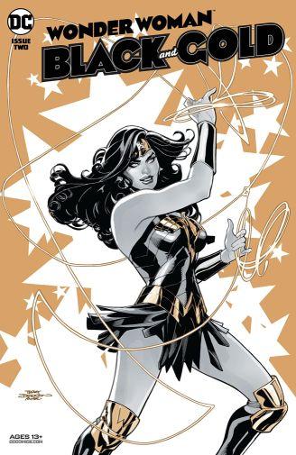 Wonder Woman Black and Gold 2