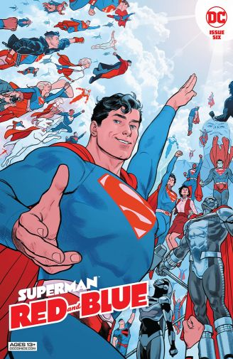 Superman Red and Blue 6