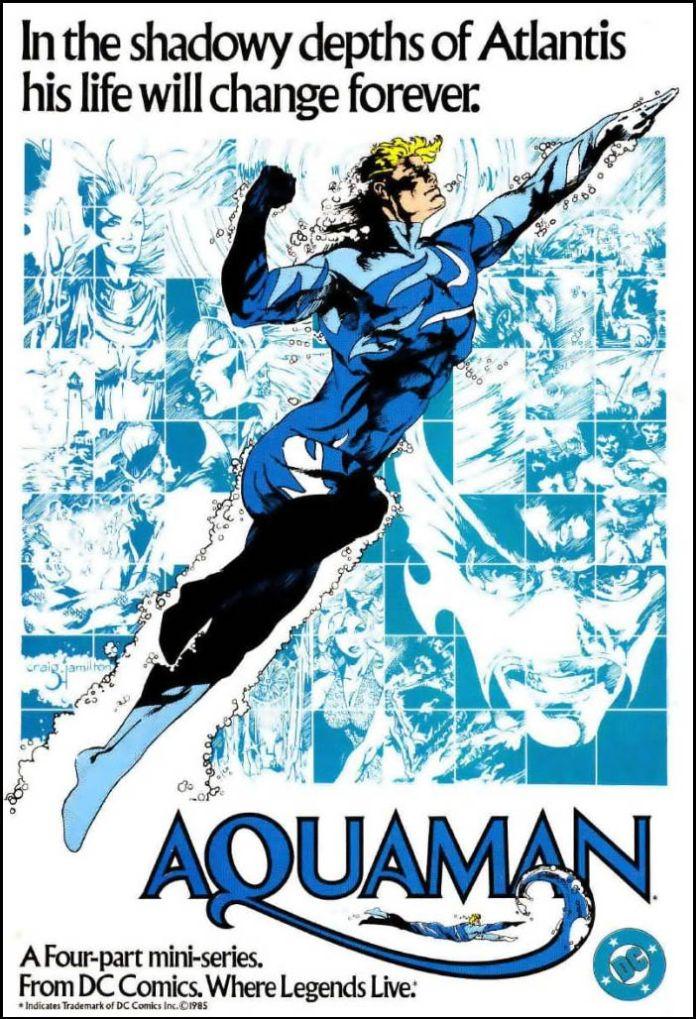 Aquaman - Comics - Blue Suit - 01