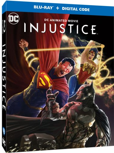 Injustice - DC Animated Movie - Blu-ray - angled shot - 01