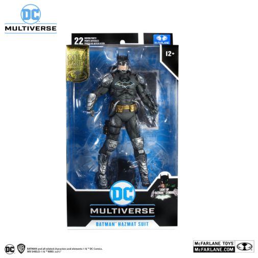 McFarlane Toys - DC Multiverse - Batman - Hazmat Suit Batman - Gold Label - 08