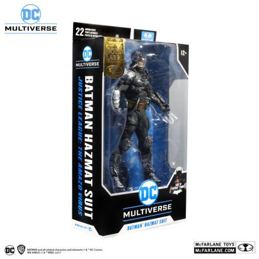 McFarlane Toys - DC Multiverse - Batman - Hazmat Suit Batman - Gold Label - 09